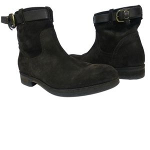 Alberto Fermani Sasso Suede Ankle Boot Worn Once